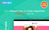 """Magetique Lingerie - FREE eCommerce Magento 2 Theme"" thème Magento"