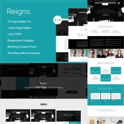 Responsywny szablon Joomla #79787 na temat: grafika i projektowanie