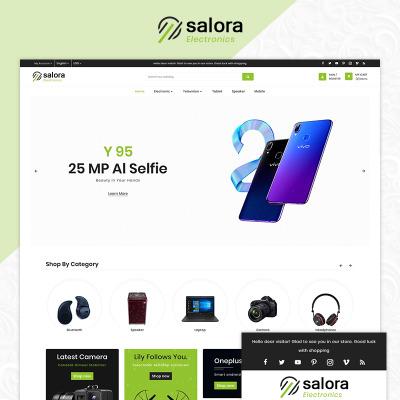 Thème OpenCart  pour site de boutique mobile