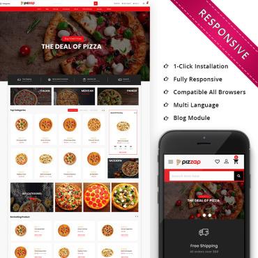 Купить  пофессиональные OpenCart шаблоны. Купить шаблон #79818 и создать сайт.