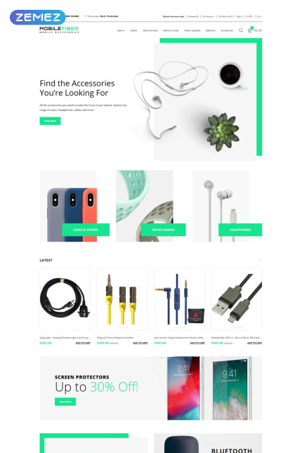 OpenCart Template 79854