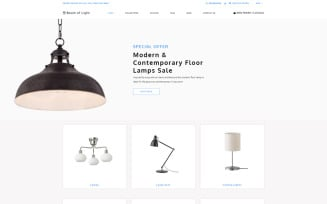 Beam of Light - Lighting & Electricity Multipage Clean Shopify Theme