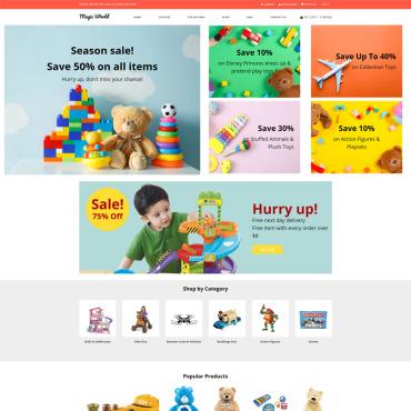 Купить  пофессиональные Shopify шаблоны. Купить шаблон #79858 и создать сайт.