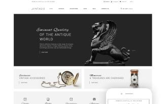 Vintagio - Antique Shop Clean Shopify Theme