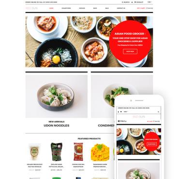Купить  пофессиональные Shopify шаблоны. Купить шаблон #79861 и создать сайт.