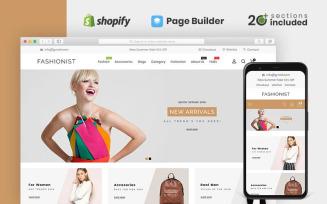Fashionist Multipurpose Shopify Theme