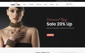 Hartking - Jewelry Shop PrestaShop Theme