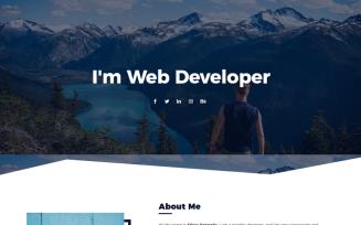 Edrea - Personal Portfolio Joomla Template