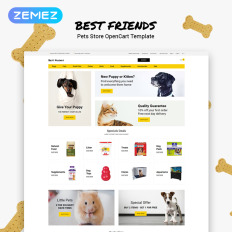 Pet Shop Templates | TemplateMonster