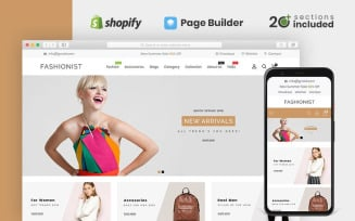 Fashionist Multipurpose Shopify Theme
