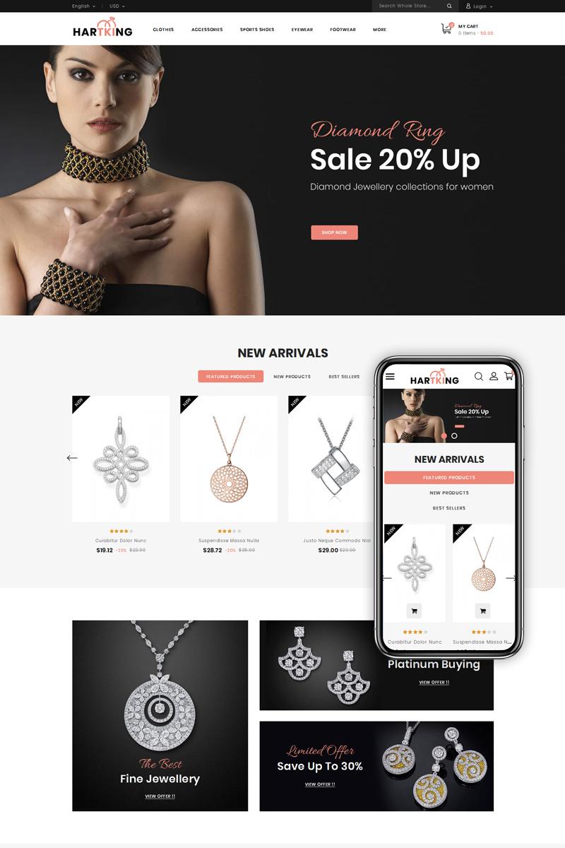 Hartking - Jewelry Shop PrestaShop Theme
