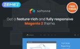 """Magento motiv """"Softonne - FREE Electronics Simple"""""""