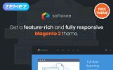 "Magento Theme namens ""Softonne - FREE Electronics Simple"""