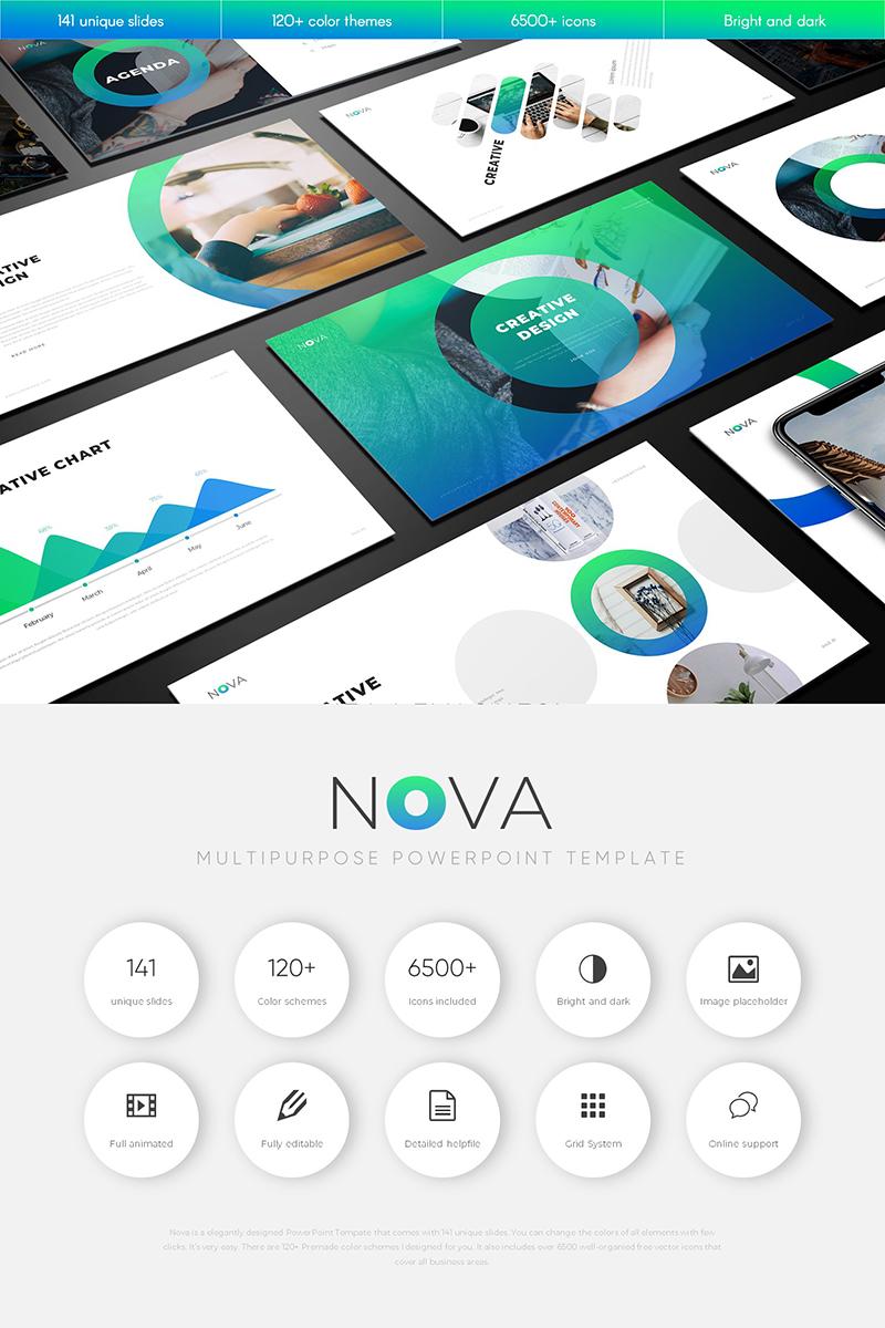 """Nova Multipurpose"" PowerPoint Template №79890"