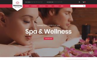 Relaxing - Spa & Salon PrestaShop Theme