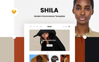 Shila Ecommerce Sketch Template