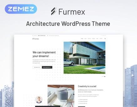 Furmex - Architecture Multipurpose Modern Elementor WordPress Theme