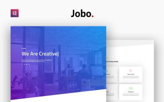 Jobo - Creative Portfolio Modern Elementor
