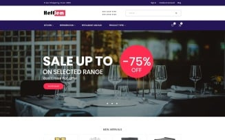 Hefflem - Kitchen Furniture Ecommerce Template Magento Theme