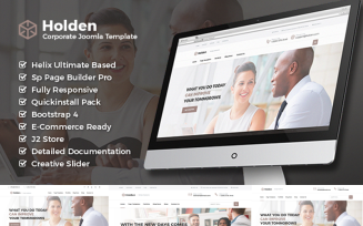 Holden - Corporate Business Joomla Template