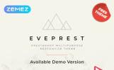 "PrestaShop Theme namens ""Eveprest - Free Clean Bootstrap Ecommerce"""