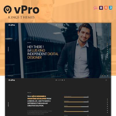 Marketing Agency Responsive Nyítóoldal Sablon