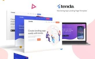 Tenda - App Landing Page Template