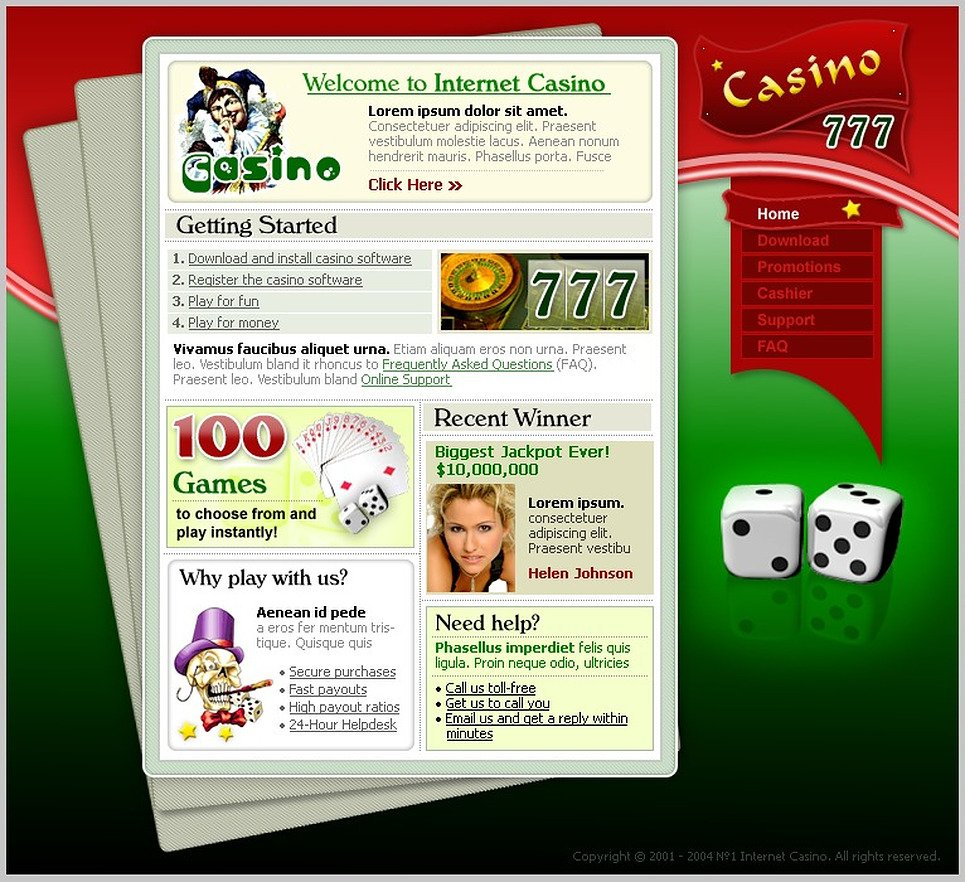 Online casinos flash benefits for legalized gambling