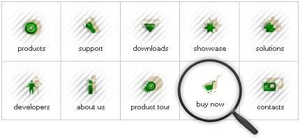 Icon Set Template 8049 Screenshots