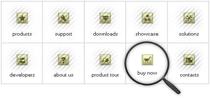Icon Set Template 8052 Screenshots