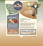 Flash: Food & Drink ArtWorks Flash Site Cafe and Restaurant Most Popular Brewery Templates
