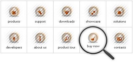Icon Set Template 8075 Screenshots