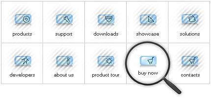 Icon Set Template 8076 Screenshots