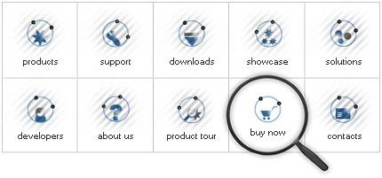 Icon Set Template 8077 Screenshots