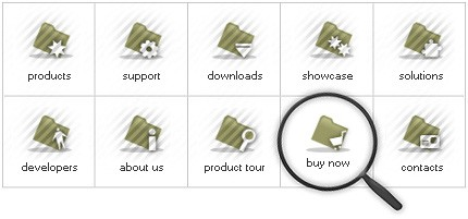 Icon Set Template 8081 Screenshots