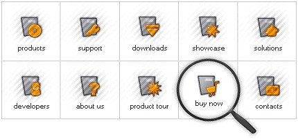 Icon Set Template 8088 Screenshots