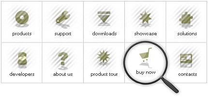 Icon Set Template 8089 Screenshots