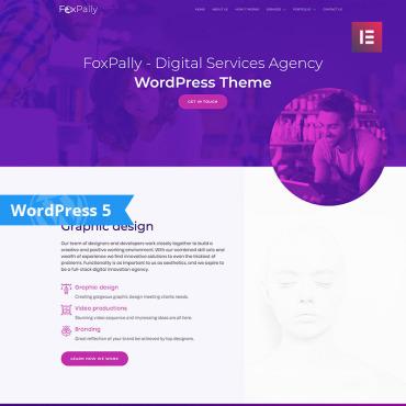 Купить  пофессиональные WordPress темы. Купить шаблон #80056 и создать сайт.