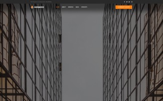 Henmox - Construction Multipurpose Modern WordPress Elementor Theme
