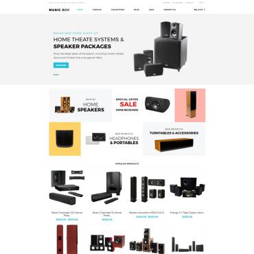 Купить  пофессиональные Shopify шаблоны. Купить шаблон #80065 и создать сайт.