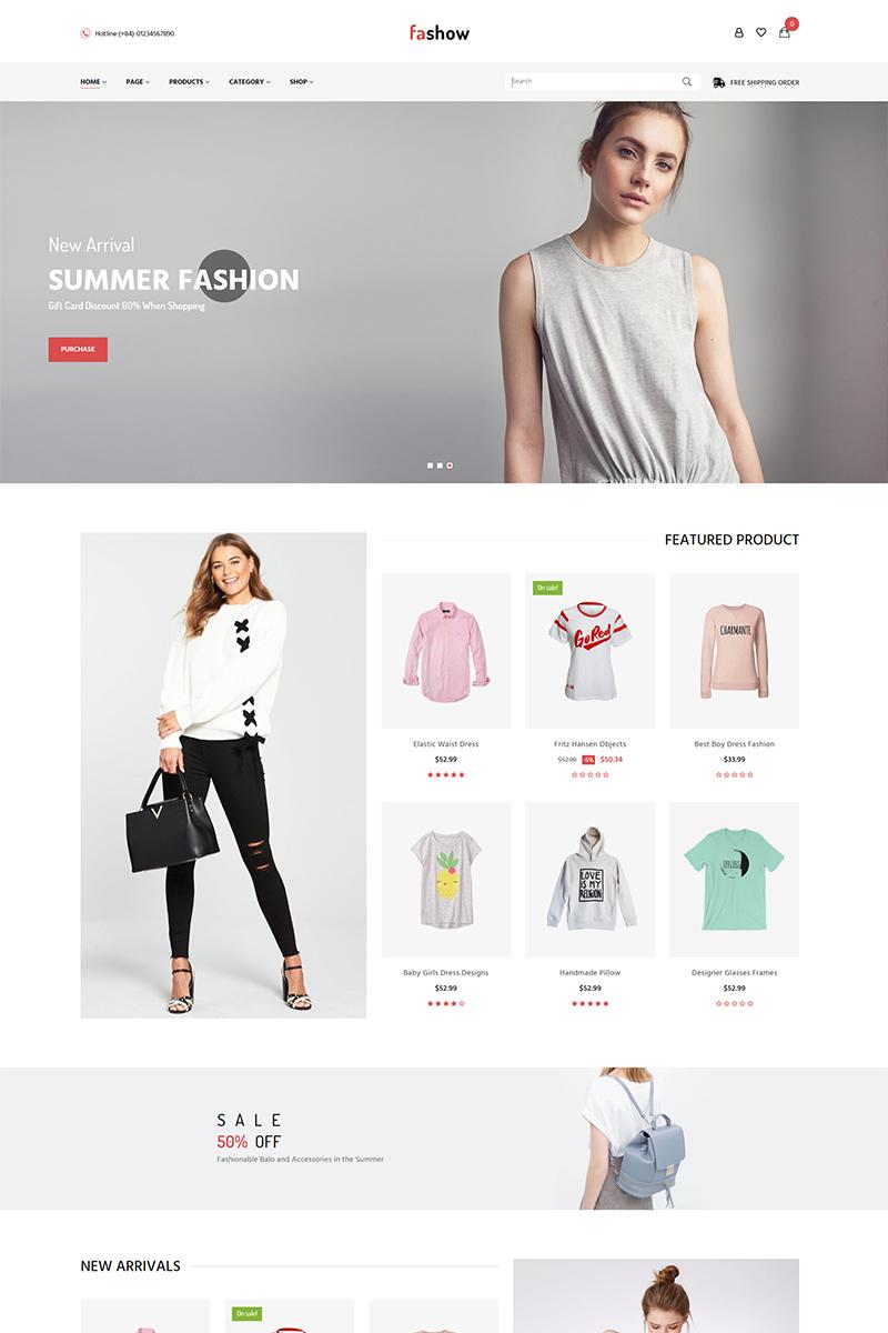 Faski - Fashion PrestaShop-tema #80041
