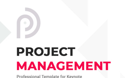 Project Management - Keynote template Keynote Template