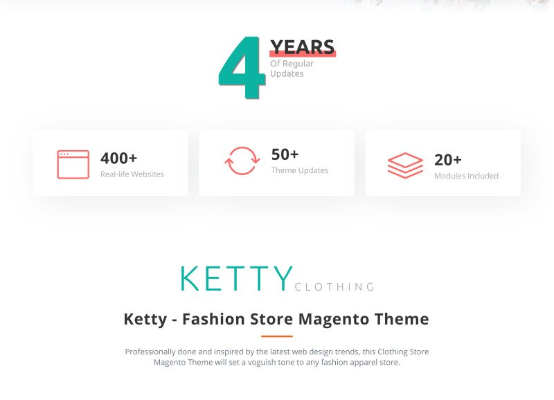 Ketty - Fashion Store Magento Theme - Features Image 2