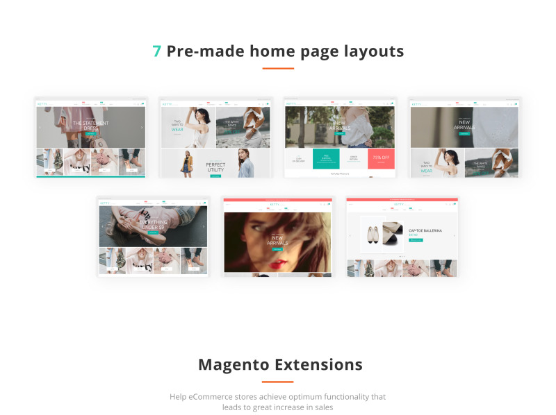 Ketty - Fashion Store Magento Theme - Features Image 3