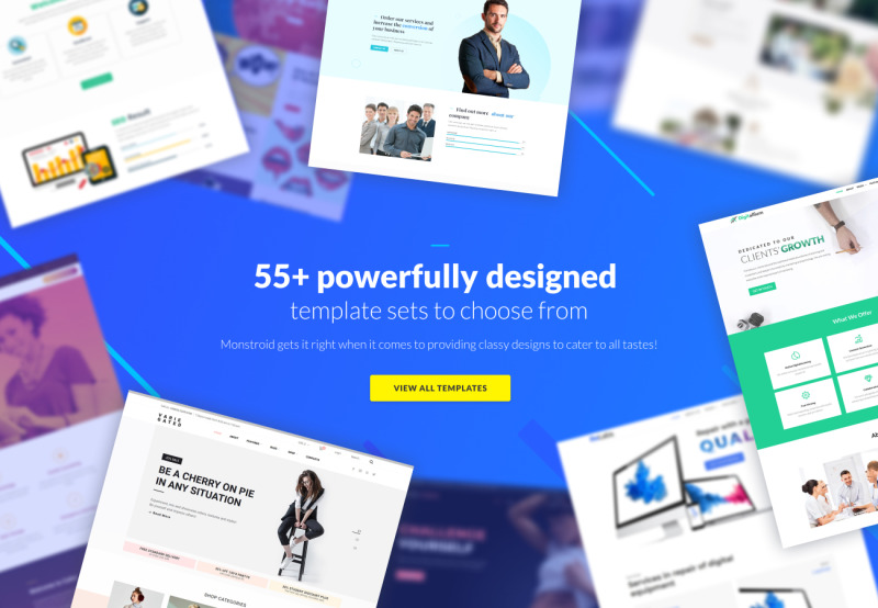 Monstroid - Best WordPress Template - Features Image 3