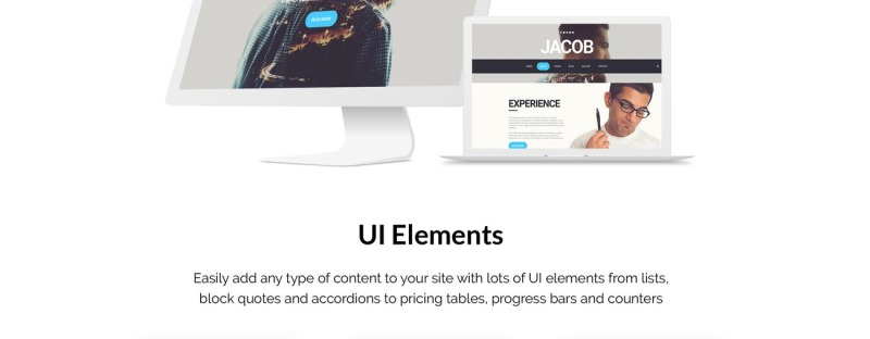 Jacob Joomla Template - Features Image 2