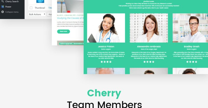 UniversalCare - Medical Center Responsive WordPress Theme - Features Image 5