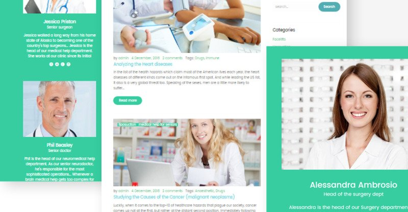 UniversalCare - Medical Center Responsive WordPress Theme - Features Image 7