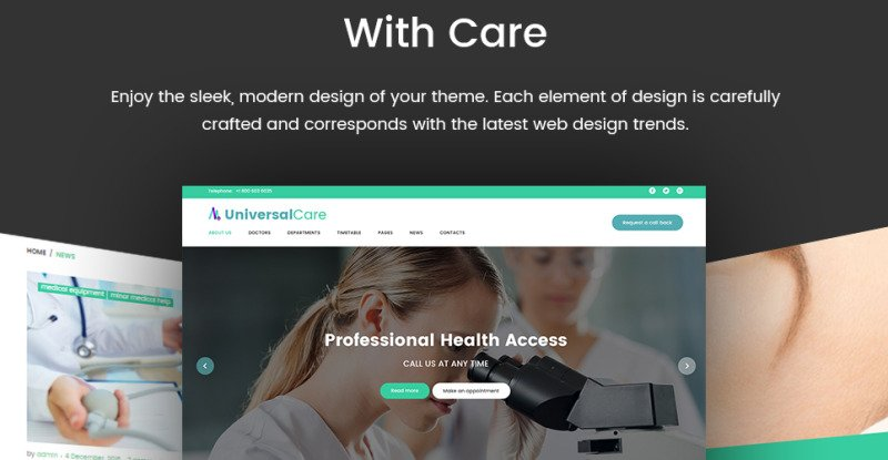 UniversalCare - Medical Center Responsive WordPress Theme - Features Image 23
