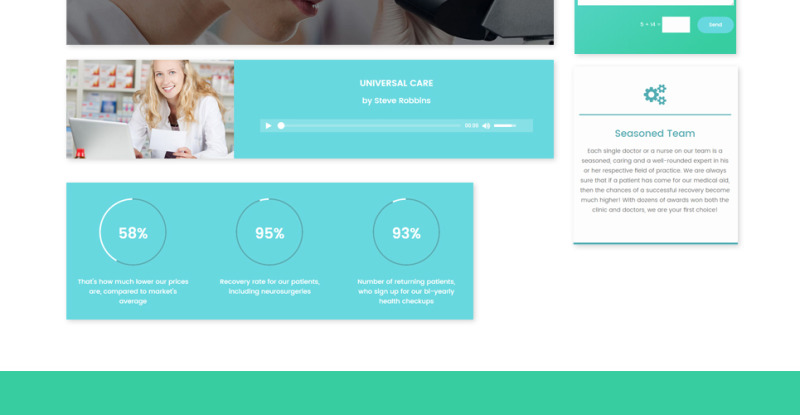 UniversalCare - Medical Center Responsive WordPress Theme - Features Image 26
